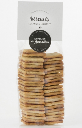 Biscuits Losanges noisette